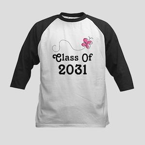 Class Of 2031 Butterfly Baseball Jersey