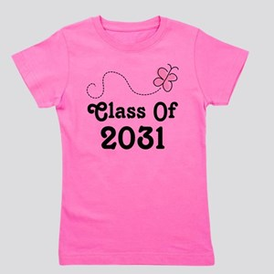 Class Of 2031 Butterfly T-Shirt