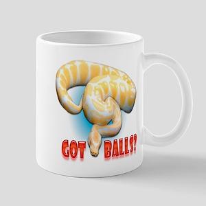 ALBINO PYTHON GOT BALLS Mug