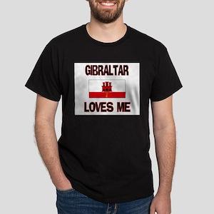 Gibraltar Loves Me Dark T-Shirt