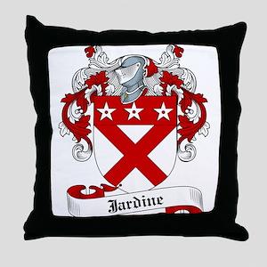 Jardine Family Crest Throw Pillow