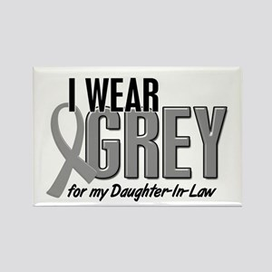I Wear Grey For My Daughter-In-Law 10 Rectangle Ma