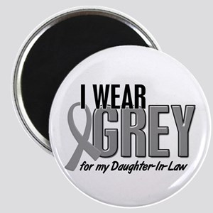 I Wear Grey For My Daughter-In-Law 10 Magnet
