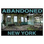 Abandoned Machine Shop Poster
