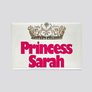 Princess Sarah Rectangle Magnet