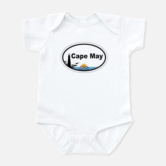 Cape May Lighthouse Infant Bodysuit