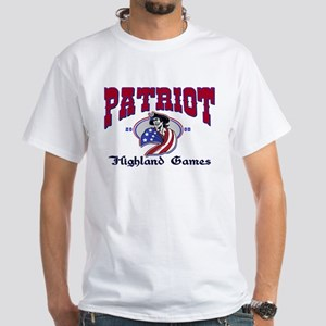 Patriot Highland Games White T-Shirt