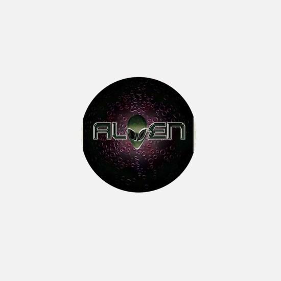 ALIEN Logo T04 Mini Button