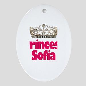 Princess Sofia Oval Ornament