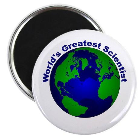 "World's Greatest Scientist 2.25"" Magnet (100 pack)"