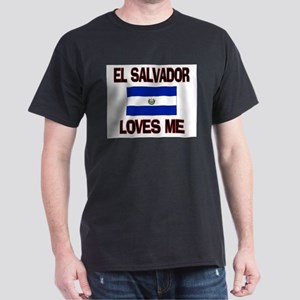 El Salvador Loves Me Dark T-Shirt