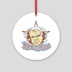McCainiac Ornament (Round)