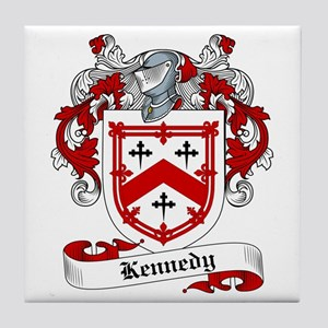 Kennedy Family Crest Tile Coaster