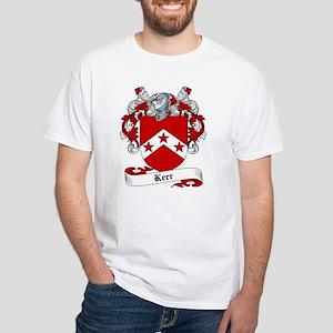 Kerr Family Crest White T-Shirt