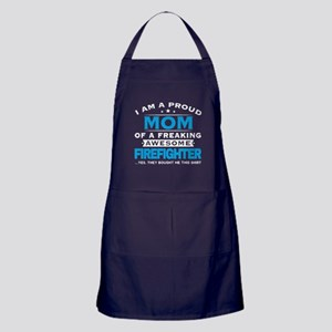 I'm A Proud Mom T Shirt Apron (dark)