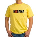 NOBAMA Yellow T-Shirt