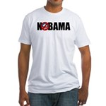 NOBAMA Fitted T-Shirt
