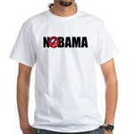NOBAMA White T-Shirt