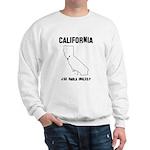 Funny California Motto Sweatshirt