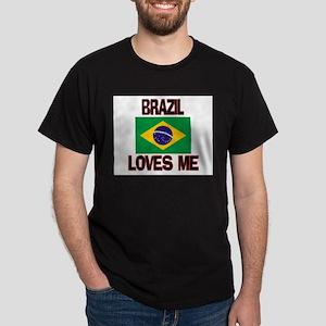 Brazil Loves Me Dark T-Shirt