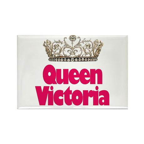 Queen Victoria Rectangle Magnet