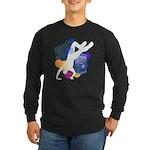 Breakdancer Long Sleeve Black T-Shirt