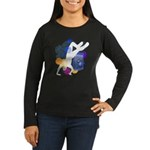 Breakdancer Women's Long Sleeve Dark T-Shirt