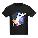 Breakdancer Kids Dark T-Shirt