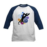 Breakdancer Kids Baseball Jersey