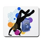 Breakdancer Mousepad