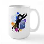 Breakdancer Large Mug