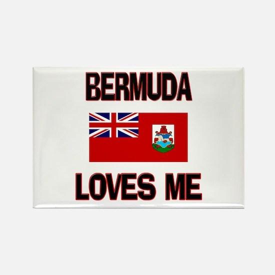 Bermuda Loves Me Rectangle Magnet