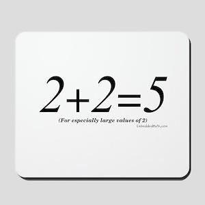 2+2=5 - Mousepad