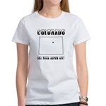 Funny Colorado Motto Women's T-Shirt