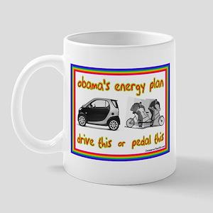 """""""Obama's Energy Plan"""" Mug"""
