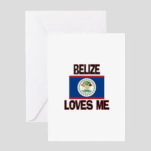 Belize Loves Me Greeting Card