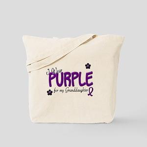 I Wear Teal For My Granddaughter 14 Tote Bag
