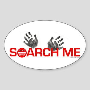 SEARCH ME Oval Sticker