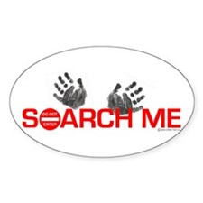 SEARCH ME Oval Sticker