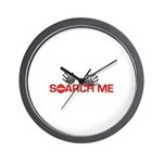 SEARCH ME Wall Clock