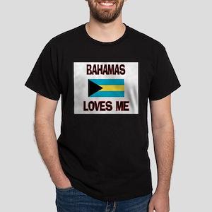 Bahamas Loves Me Dark T-Shirt