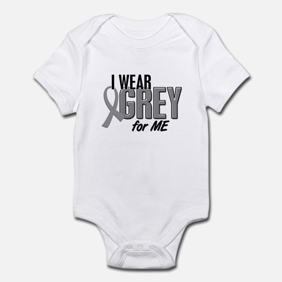 I Wear Grey For ME 10 Infant Bodysuit