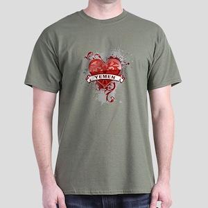 Heart Yemen Dark T-Shirt
