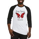 Lung Cancer Survivor Baseball Jersey
