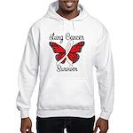 Lung Cancer Survivor Hooded Sweatshirt