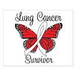 Lung Cancer Survivor Small Poster