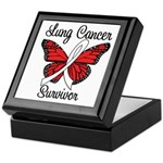Lung Cancer Survivor Keepsake Box