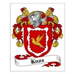 Knox Family Crest Small Poster