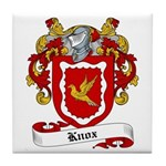 Knox Family Crest Tile Coaster
