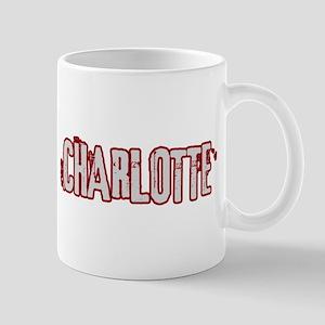 CHARLOTTE (distressed) Mug